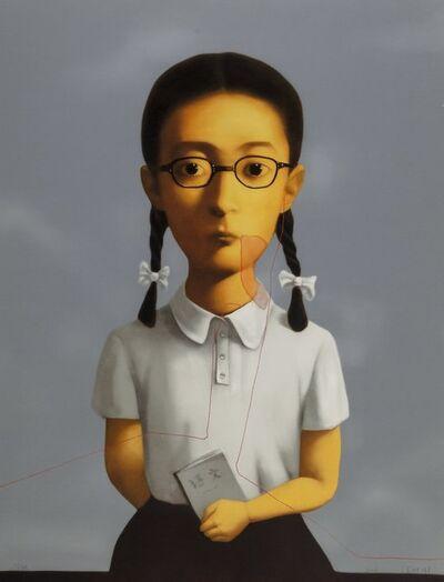 Zhang Xiaogang, 'Girl, from Big Family', 2006