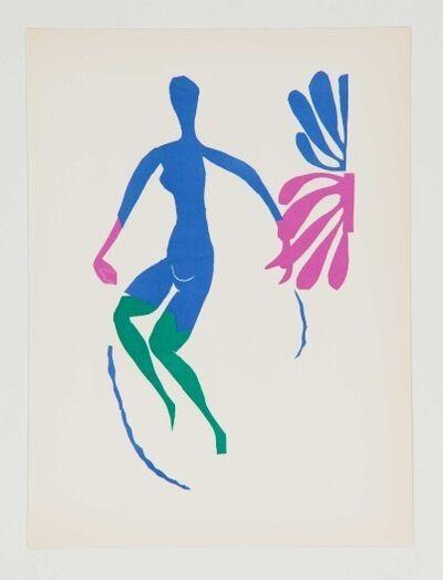 Henri Matisse, 'Nue Bleu Avec Bas Verts', 1952