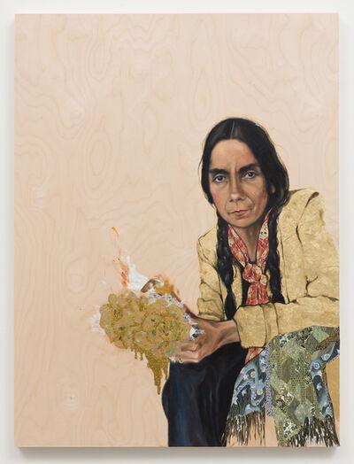 Shizu Saldamando, 'La Mariana', 2019