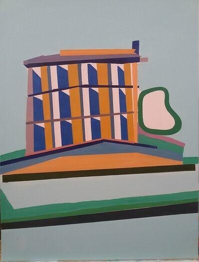 Vasilena Gankovska, 'Coluiring the Structure IV', 2016
