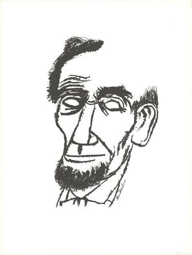 Ben Shahn, 'Portrait of Abraham Lincoln', 1965