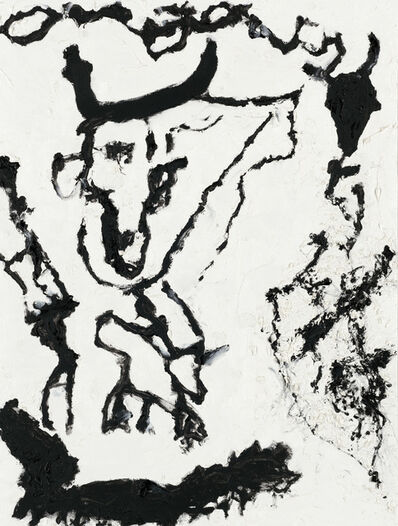 """Don Van Vliet, '""""Puce and Rouge""""', 1997"""