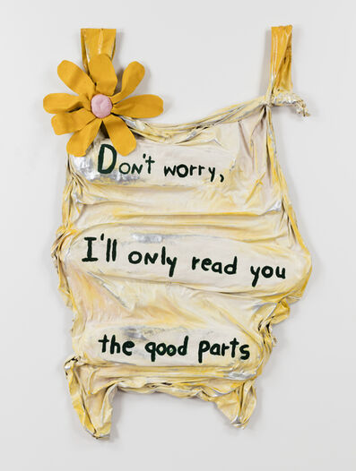 Ree Morton, 'Don't worry, I'll only read you the good parts', 1975