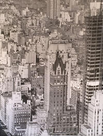 Erwin Blumenfeld, 'Manhattan Cityscape', 1958