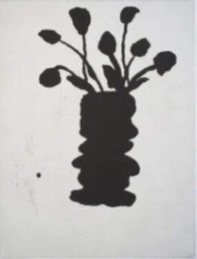 Donald Baechler, '6 Flowers, II', 1996