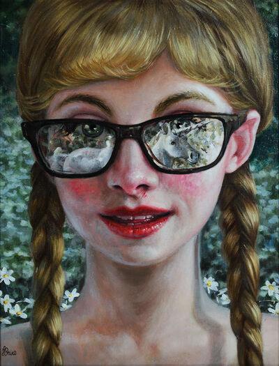 Jana Brike, 'Girl Struck by a Unicorn', 2016