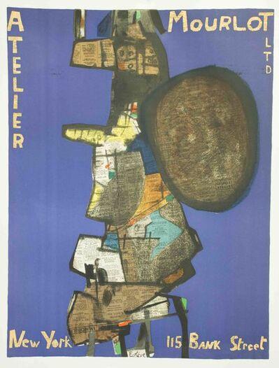 Maurice Estève, 'Atelier Mourlot, New York, 115 Bank Street', 1967