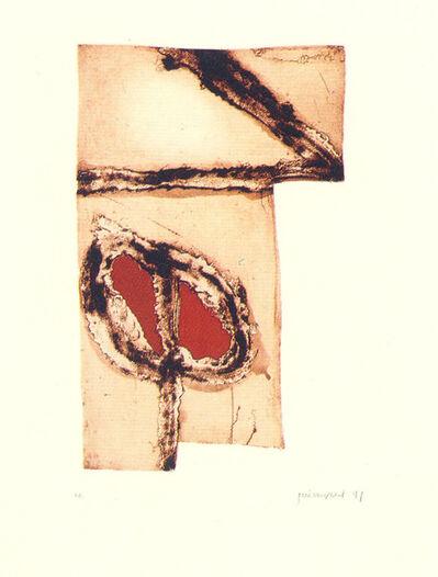 Josep Guinovart, 'Imatges i terra 5', 1991