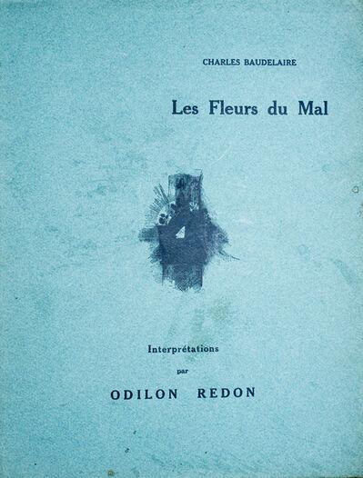 Odilon Redon, 'Les Fleurs du Mal - Interprétation par Odilon Redon', 1923