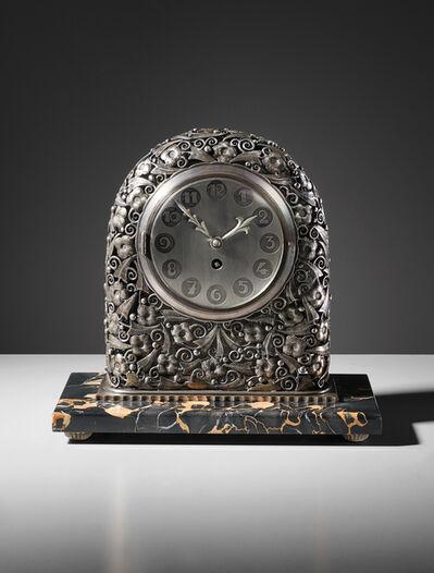 Edgar Brandt, 'Mantle clock', 1920s