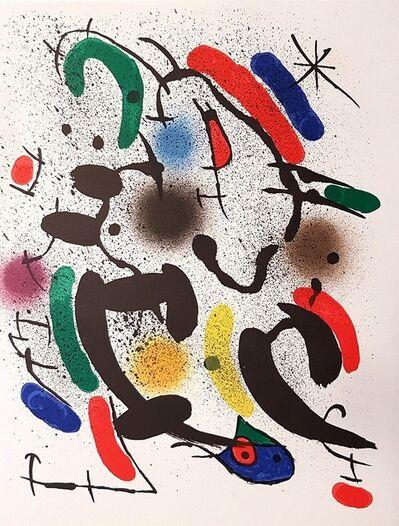 Joan Miró, 'Mirò Lithographe I - Plate VI', 1972