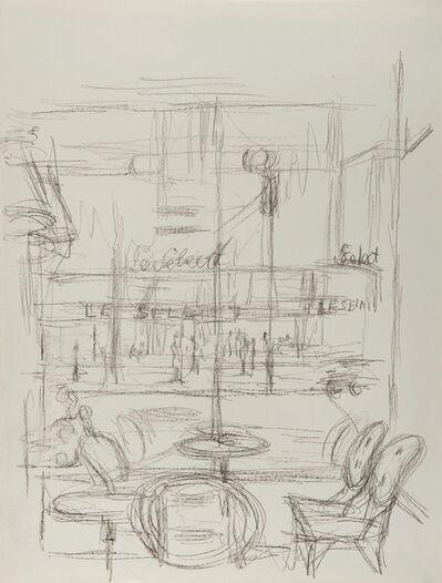 Alberto Giacometti, 'Le Select vu de la Coupole, Paris sans fin', ca. 1961