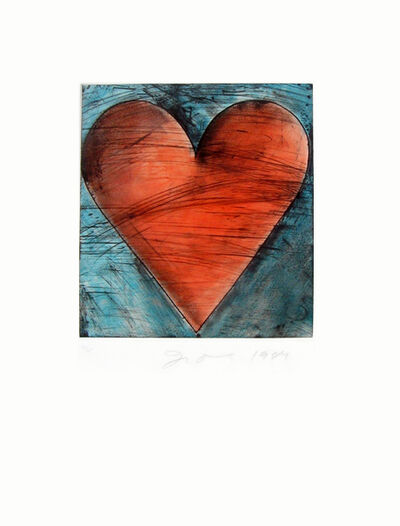 Jim Dine, 'Heart', 1984