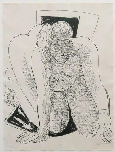 Max Beckmann, 'Kriechende Frau', 1946