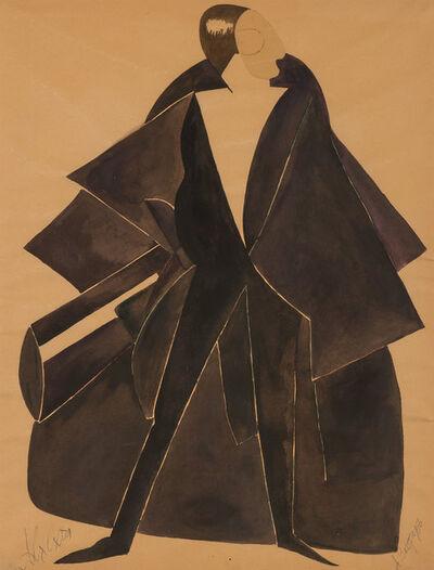 Alexandra Exter, 'Projet de Costume'
