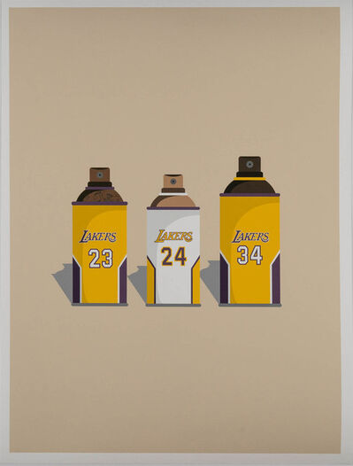 Ewkuks..., 'Lakers Print', 2019