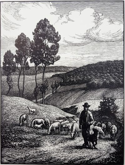Paul-Emile Colin, 'Le Berger (The Shepherd)', ca. 1925