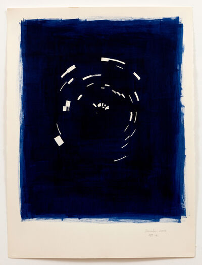 Annette Lawrence, 'Indigo December 2019', 2019