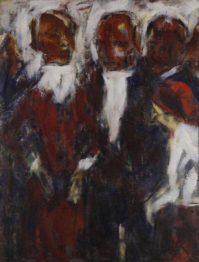 Christian Rohlfs, 'Sängerin I (Vier Menschen)', ca. 1921