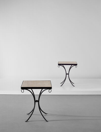 Jean-Michel Frank, 'Pair of rare side tables', 1932-1934