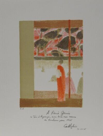Bernard Cathelin, 'Soir à Ryoangi', 1975