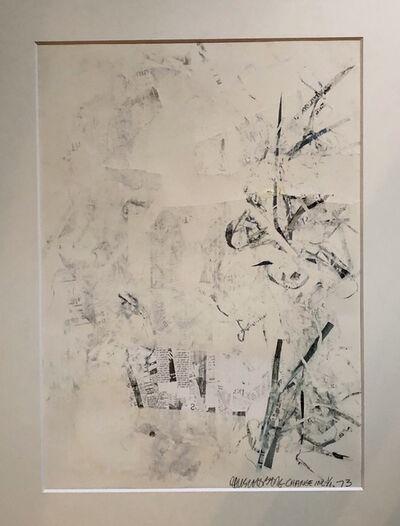 Robert Rauschenberg, 'NO NAME', 1973