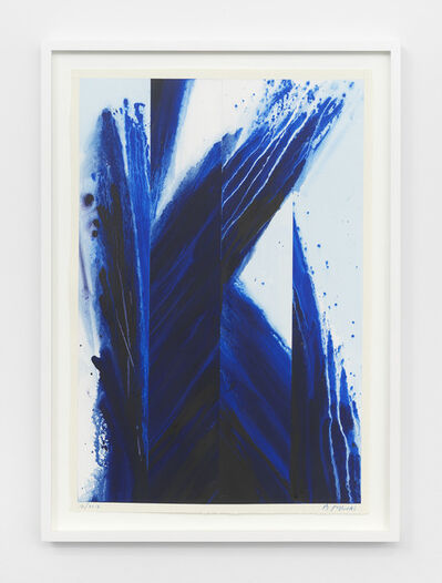 Barnaby Furnas, 'Study for Blue Passage #4', 2018