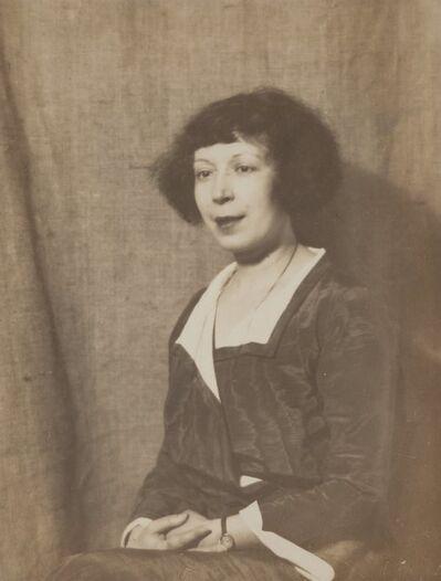 Man Ray, 'Portrait of Marie Laurencin', 1923