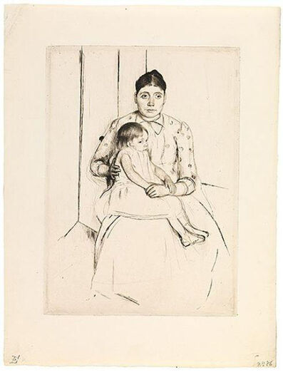 Mary Cassatt, 'Repose', ca. 1890