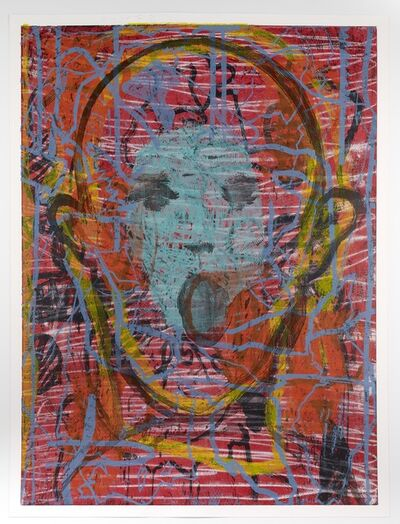 Jim Dine, 'This Man Sings Words', 2016
