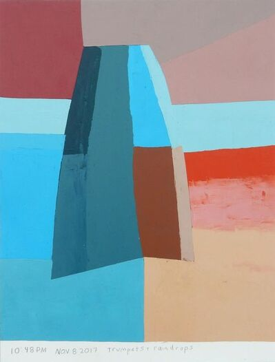 Kristin Texeira, 'trumpets and raindrops', 2017