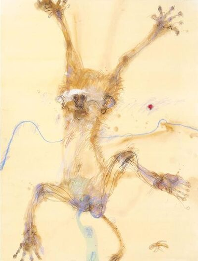 John Olsen (b.1928), 'Monkey II', 0000