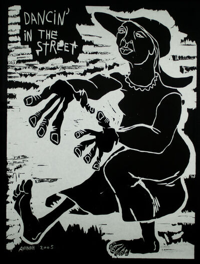Aminah Brenda Lynn Robinson, 'Dancin' in the Street', 2005