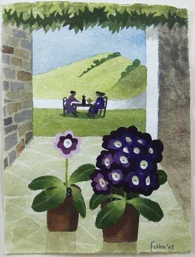 Mary Fedden, 'Ladies who Lunch ', 2007