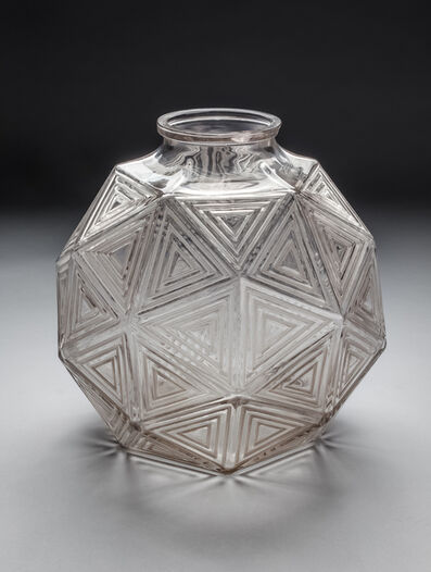 "René Lalique, 'Vase ""Nanking"" by Rene Lalique, also named ""Facettes triangulaires"" ', ca. 1925"