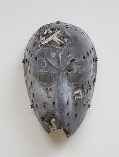 Daniel Arsham, 'Volcanic Ash and Selenite Hockey Mask', 2016