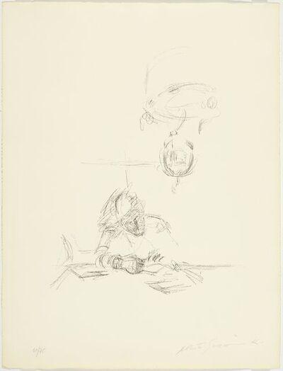 Alberto Giacometti, 'La mère de l'artiste lisant sous la lampe à Stampa I', 1963