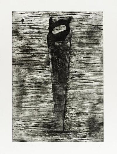 Jim Dine, 'Saw', 1976