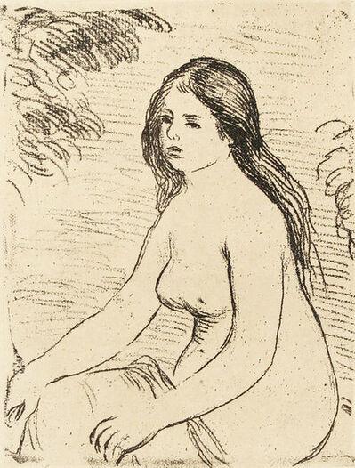 Joan Miró, 'Femme Nue Assise (Nude Girl Sitting)', 1909