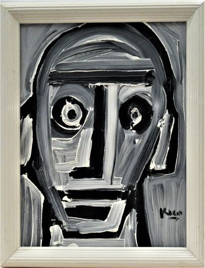 Enrique Kico Govantes, '  White Head #2', ca. 1990