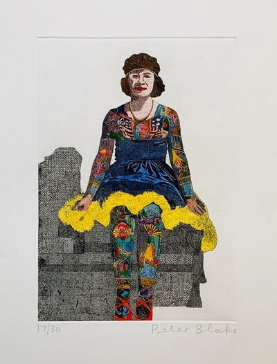 Peter Blake, 'Liberty Beauty Rose ', 2014