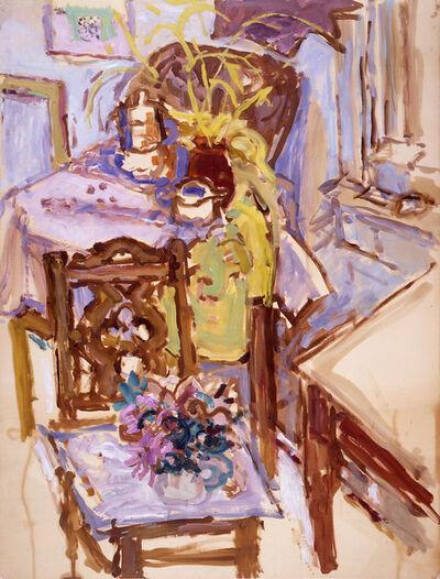 Nell Blaine, 'Studio Interior, Yaddo', 1957