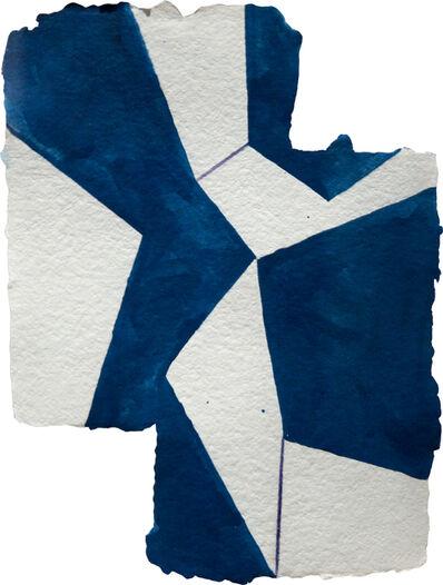 Mary Heilmann, 'Blue Cracky', 1993