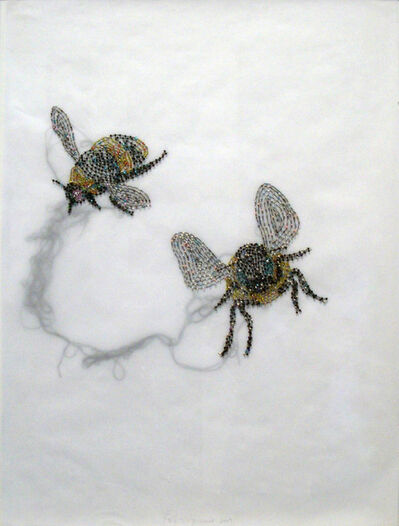 Rob Wynne, 'Two Bees', 2009