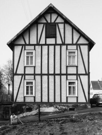 Bernd and Hilla Becher, 'Framework House: Holzhäuser Straße 25, Allendorf', 1973 / printed 2016