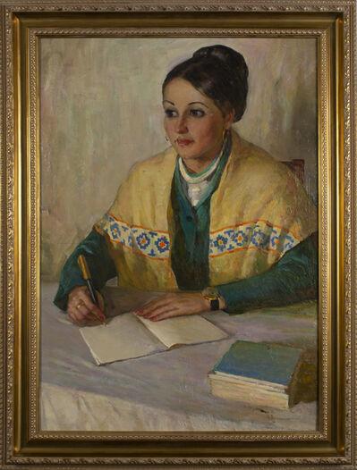 Shorokhov Anatoly, 'A girl named Sveta', 1977