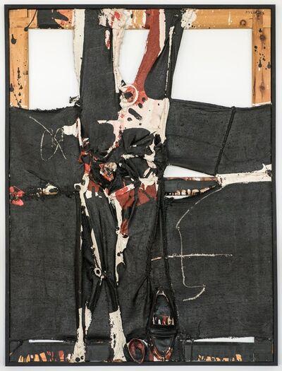 Manolo Millares, 'Cuadro 186', 1962
