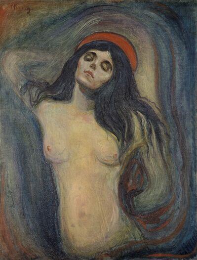 Edvard Munch, 'Madonna', 1894