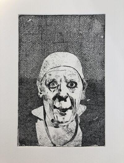 Peter Blake, 'Grock', 2019