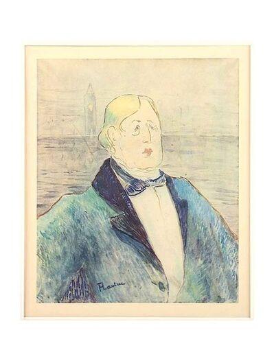 Henri de Toulouse-Lautrec, 'Oscar Wilde', 1927